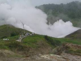 Volcano and hot Spring of Japan